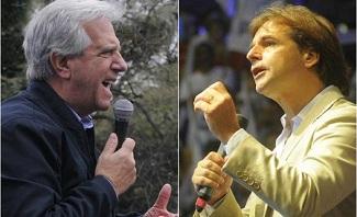 """Vázquez vs Lacalle: Solo uno será el sucesor de """"Pepe"""" Mujica"""