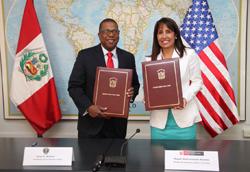 Estados Unidos y Perú firman convenio de cooperación en favor de las pymes