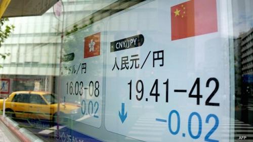 FMI: China ha dado un paso positivo con la devaluación del yuan