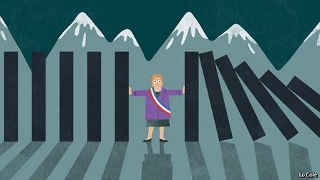 Recesión chilena: El Cobre y China golpean su economía