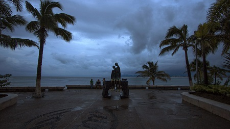 "Huracán ""Patricia"" causa menores daños a los esperados en México."