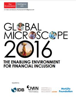 Microscopio Global 2016: Perú entorno propicio para la inclusión financiera