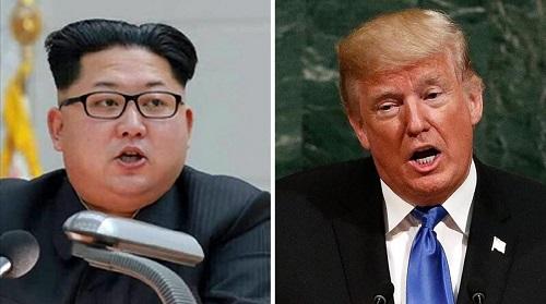 Kim vs. Trump (Rocket-Man vs. Dotard)