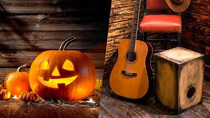 ¿Celebrar Halloween o Día de la Canción Criolla?