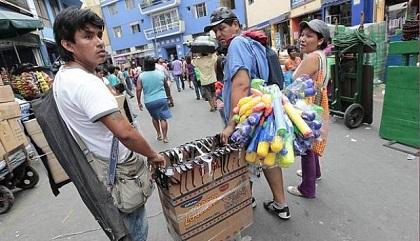 INEI: Crece el empleo informal en 4.9%