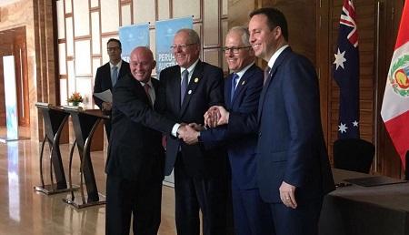 Firma de TLC con Australia generará mayores oportunidades para empresas exportadoras