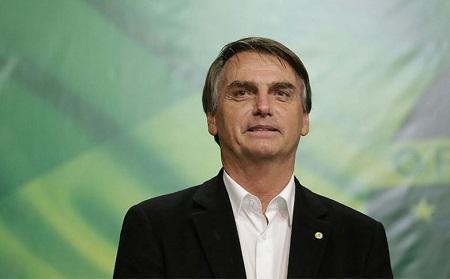 Jair Bolsonaro es elegido virtual presidente de Brasil