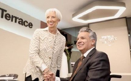 FMI y Ecuador pactan acuerdo de financiamiento y apoyo a políticas económicas por tres años