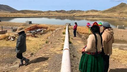 Organización mexicana se encargará de la descontaminación del lago Titicaca