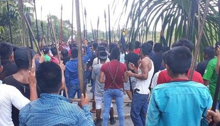 Comunidad nativa bloquea, una vez más, actividades del Oleoducto Norperuano
