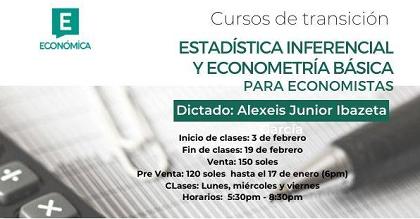 La Estadística y Econometría en la formación del economista