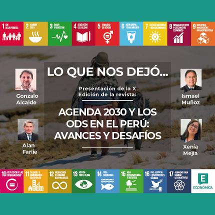 """Lo que nos dejó la presentación de """"Agenda 2030 y los ODS en el Perú: Avances y desafíos"""""""