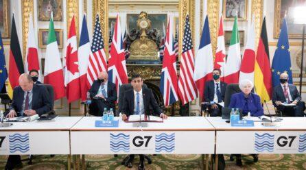 G7: Respaldan la propuesta de implementar el impuesto mundial mínimo del 15% a multinacionales
